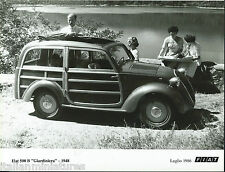 FIAT 500 B Estate Giardiniera STATION WAGON ESTATE 1948 old photo