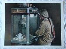 Ken Danby•Delicious•Canadian Realism•Art Print 18x24 Rare Image