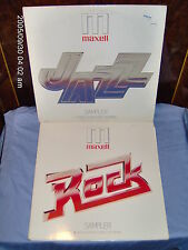 MAXELL JAZZ & ROCK SAMPLERS (2 ) GATEFOLD (VINYL LPS  EXCELLENT CONDITION)