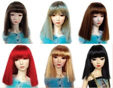 "Doll Wig, Monique Gold ""Yuri"" Sz 6/7 in Dark Red"