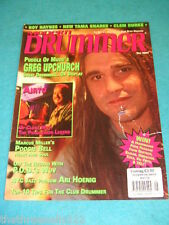 MODERN DRUMMER - GREG UPCHURCH - MAY 2004