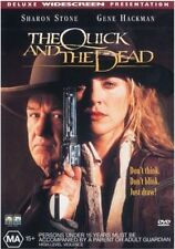 The QUICK And The DEAD DVD WESTERN Sharon Stone Gene Hackman Russell Crowe R4