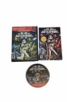 Star Wars: Battlefront II Game PS2 (PlayStation 2) - Tested!Complete In box