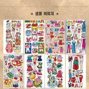 PaperDoll Used for cutting Book  30 kinds Play at home