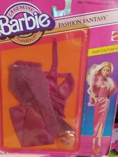 1982 Vintage Barbie Fashion Fantasy Party in Purple 5544 Fashion