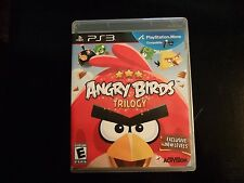 Replacement Case (NO GAME) ANGRY BIRDS: TRILOGY  PLAYSTATION 3 PS3