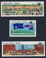 1980 NAURU UNITED NATIONS DECOLONISATION SET OF 3 FINE USED/CTO