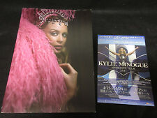 Kylie Minogue Showgirl 2005 World Tour Book with Japanese Flyer of 2011 PWL