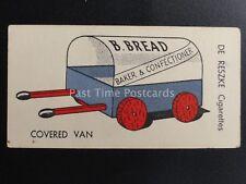 No.32 BREAD VAN CART - Things To Make by DE RESZKE / J. Millhoff 1935