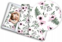 BABY BEDDING SET 120x90 PILLOWCASE DUVET COVER 2PC FIT COT 100/% COTTON Pink Fox
