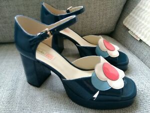 Orla Kiely Clarks, Betty Blue Shoes UK size 6, EUR 39, Retro, Vintage Style