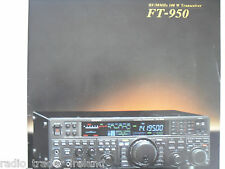 Yaesu FT-950 (BROCHURE ORIGINALE solo)............ radio_trader_ireland.