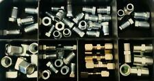 Sortiment Bremsleitungsnippel Überwurfschraube für Bremsleitung 4,75mm 60-teilig