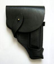 Original Soviet Russian Makarov Pistol Holster Leather Black NEW