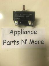 Robertshaw Whirlpool Range Oven Infinite Switch Part Numbers 1133495 21550