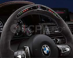 BMW Genuine Steering Wheel M Performance LED Alcantara M3 M4 F80 F82 32302344148