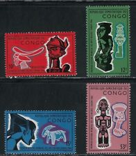 African Art on Mnh Stamps from Congo .93L.P 7 27