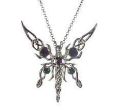 Kalea Solana Fairy Sterling Silver 925 Pendant Necklace Anne Stokes Supernaturel