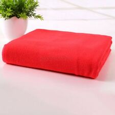 Hot Selling Large Dishcloths Red Soft Microfiber Clean Towel Kitchen Bathroom