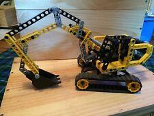 Lego Technic 8419 pelleteuse pelle mécanique sans boite ni notice très bon état