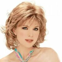 Endearing Side Bang Towheaded Natural Wave Short Capless Synthetic Wig For Women