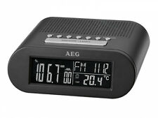 AEG 400632 MRC 4145 F Radiouhr schwarz D