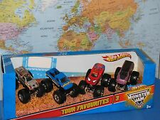 Mattel Hot Wheels Monster Jam Tour Favorites - Styles May Vary