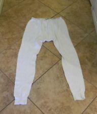 Vtg Men'S Long Johns Thermal Underwear Bottoms St John's Bay Green Band 34-36 M