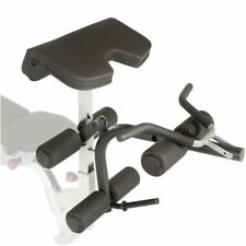 Fitness Reality X-Class Olympic Preacher Curl and Leg Dev W