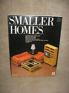 Tomy Smaller Homes Dollhouse Living Room Set Home Garden Doll House Miniature