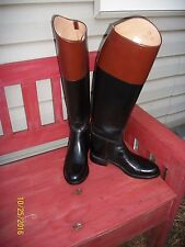 """WOMEN'S BOND EFFINGHAM 20""""  TALL BLACK & BROWN RIDING AND OR FASHION BOOTS 6.5"""