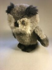 "Vtg 10"" 1988 Bravo Applause Stuffed Ferguson Plush Owl #12158"