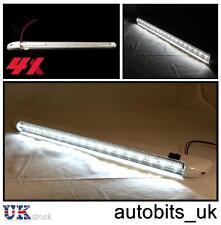 4 X POWERFUL 18 LED 12V STRIP INTERIOR LIGHT LAMP CAR CARAVAN BOAT MOTORHOME RV
