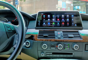 "10.25"" Android Head Unit Screen for BMW 5 E60 E61 E63 E64 2005-2008 CCC System"