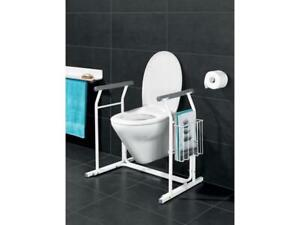 freestanding toilet frame, new! strong with magazine holder/rack, FREE POSTAGE!!