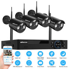 More details for kkmoon 8ch 1080p wifi nvr 4*fhd 1080p wifi cctv ip camera cctv surveillance kit