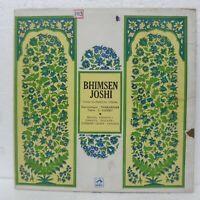 Bhimsen Joshi LP Record Hindi Classical Vocal Bollywood Rare vinyl Indian EX