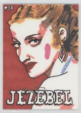 2007 Sketch Cards #TDJE Ted Dastick Jr (Jezebel) Jr. Auto Non-Sports Card 1h8