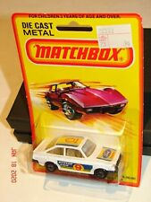 1980 MATCHBOX Superfast LESNEY No. 9 FORD ESCORT 2000 in WHITE *MOC*