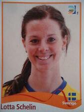 Panini Lotta Schelin Schweden FIFA Frauen WM 2011 Germany