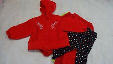 Toddler Sz 24 Mos Red SNOWSUIT Jacket & Pants 2 PC + 3 Extra Pants Tights