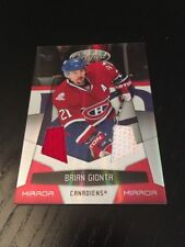 2010-11 Panini Certified Mirror Red Materials Jersey Brian Gionta Canadiens /150