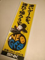 (2)Small 9x30cm. Neo Geo G-Mantle Banner Vinyl Sticker