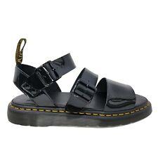 Dr. Doc Martens Gryphon Gladiator Sandals Black Shine Men's Size 5 Women's 6