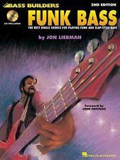 Funk Bass: Bass Builders Series Book & Online Audio