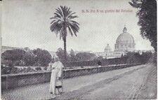 S.S. Pio X nei giardini del Vaticano (Roma, san Pietro)