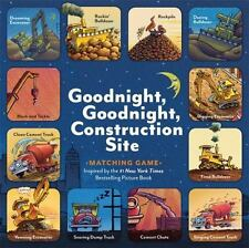 Goodnight, Goodnight, Construction Site Matching Game by Sherri Duskey Rinker (2