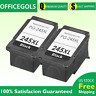 2 Packs Black Ink For Canon PG-245XL 245 PIXMA MX492 MG2450 MG2520 MX490 MG2522