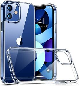 CLEAR Shockproof Silicone CASE COVER FOR APPLE IPHONE 13 PRO MAX 13 MINI 12 11