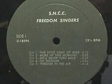 S.N.C.C - Freedom Singers ~ {priviate pressing} w/Bernice Johnson ->VERY RARE